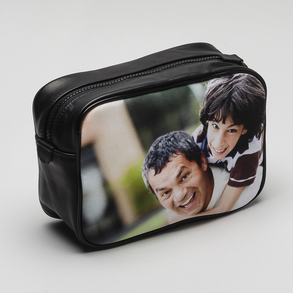 Personalised mens washbag