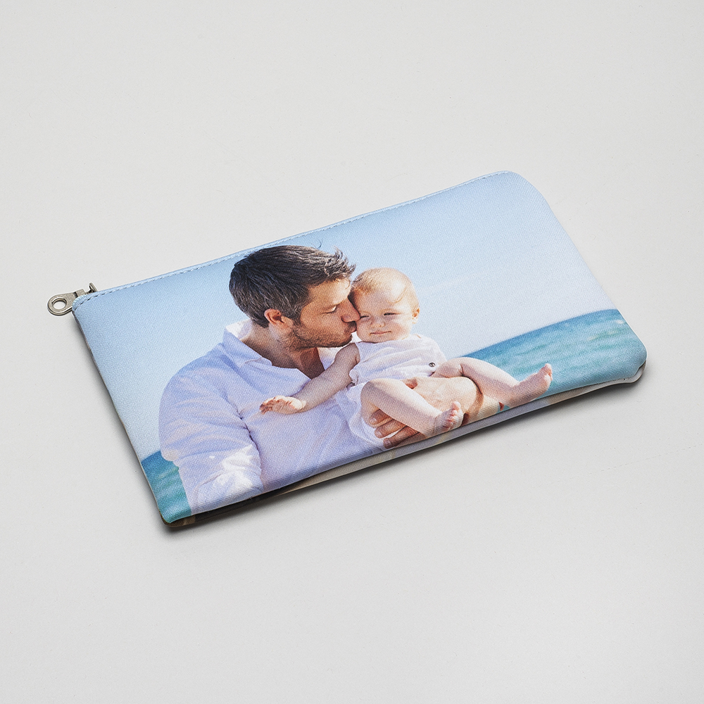 personalised zip top pouch