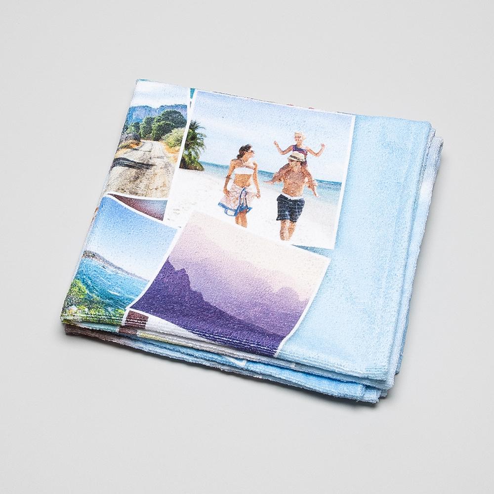 gepersonaliseerde strandhanddoek