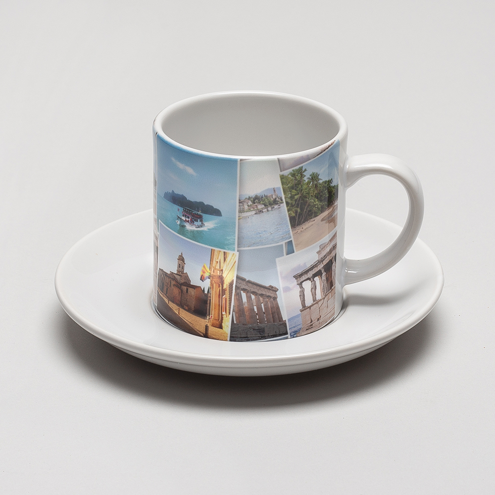 photo cup and saucer