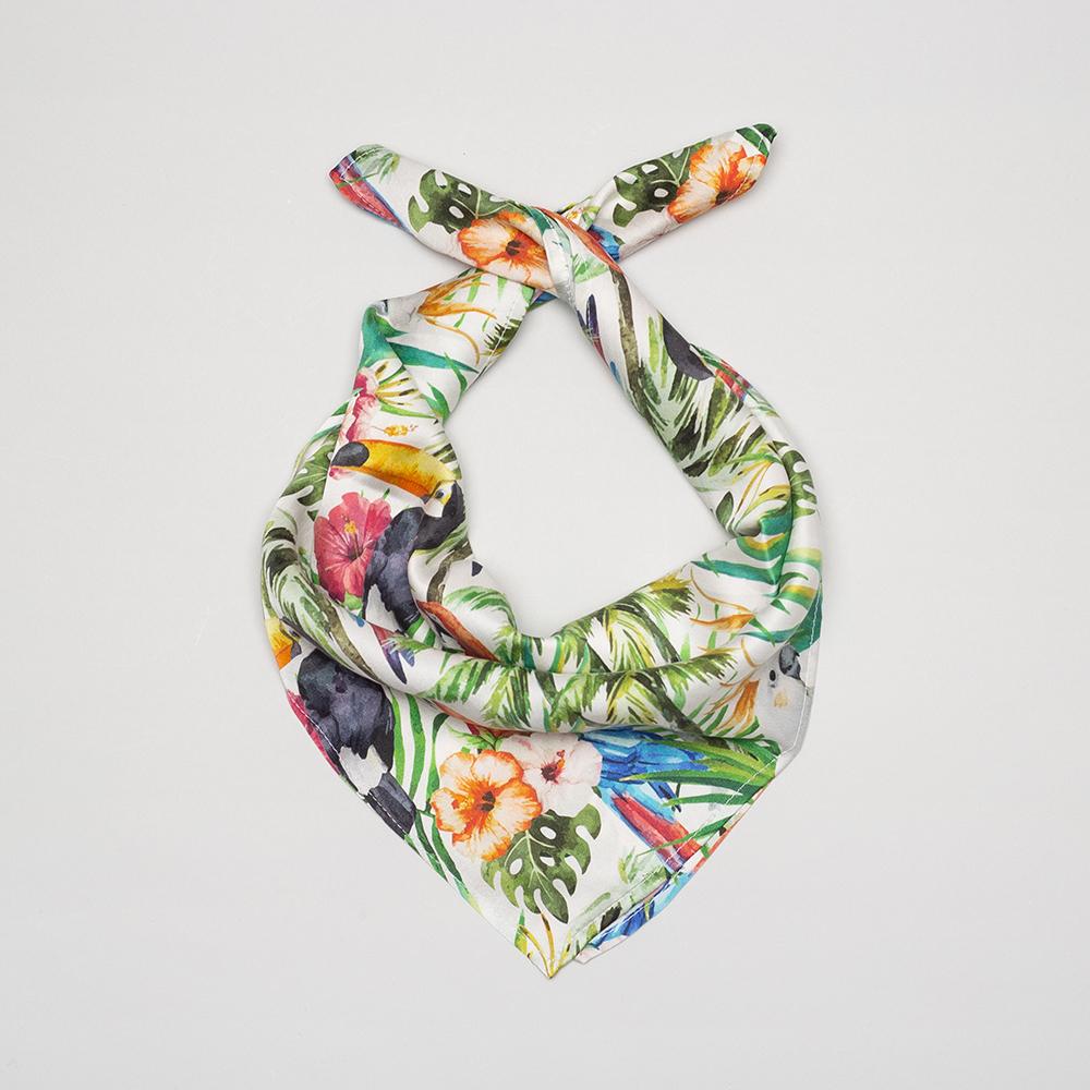 綿スカーフ  デザイン