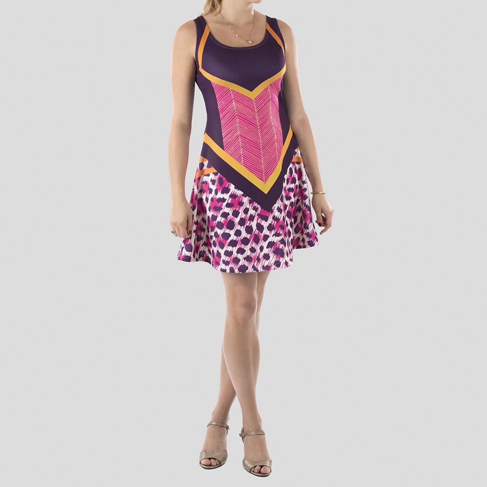 custom printed skater dress