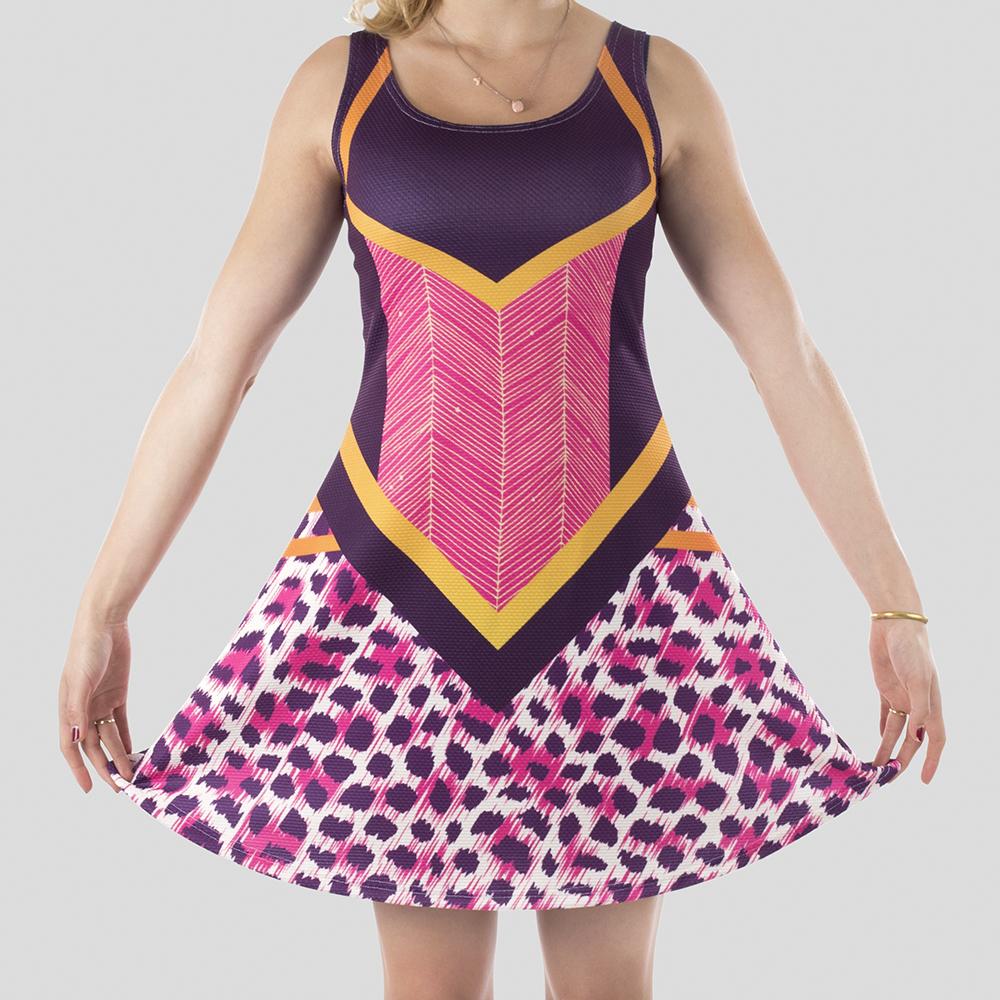 Custom Print Skater Dress