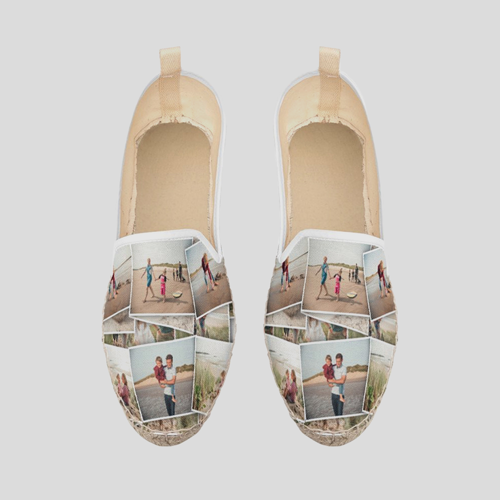 personalised loafer espadrilles