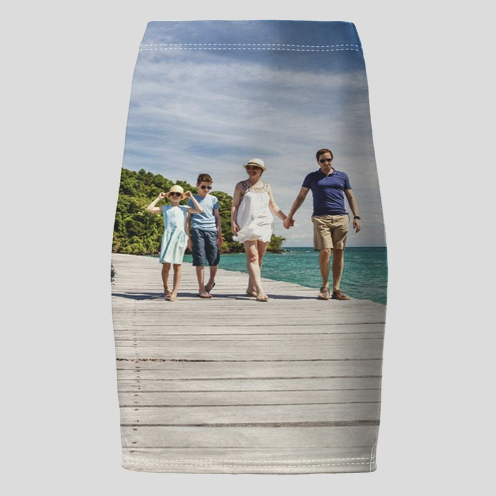 personalised pencil skirt