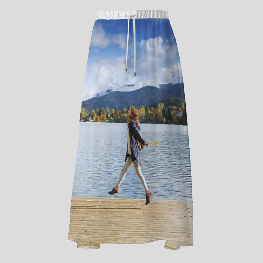 オリジナル プリントスカート デザイン