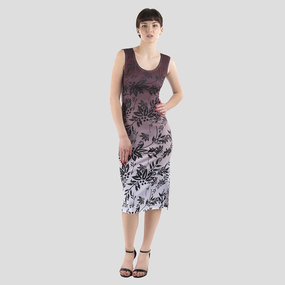 Bodycon klänning med eget tryck