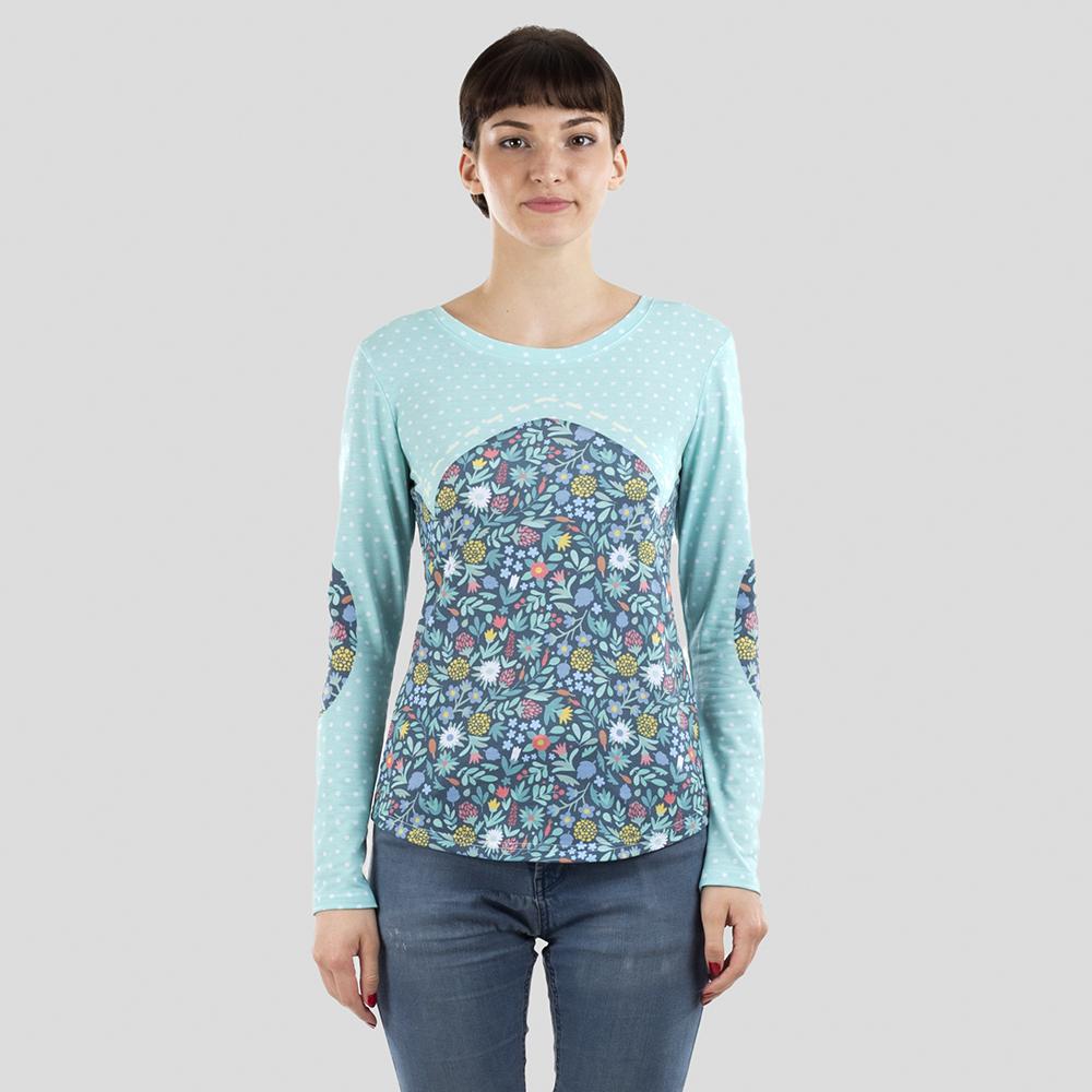 Tee shirt manches longues femme personnalisé