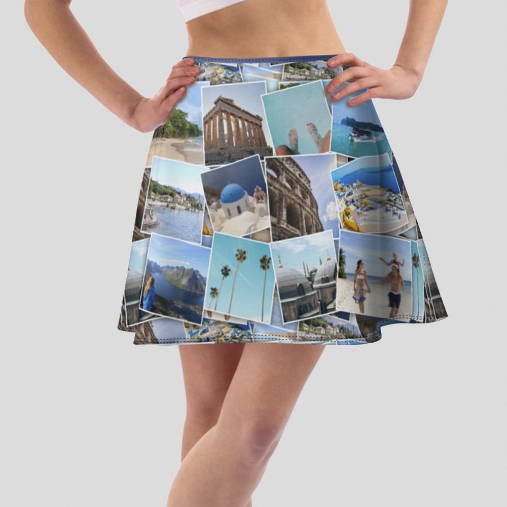 personalised skater skirt