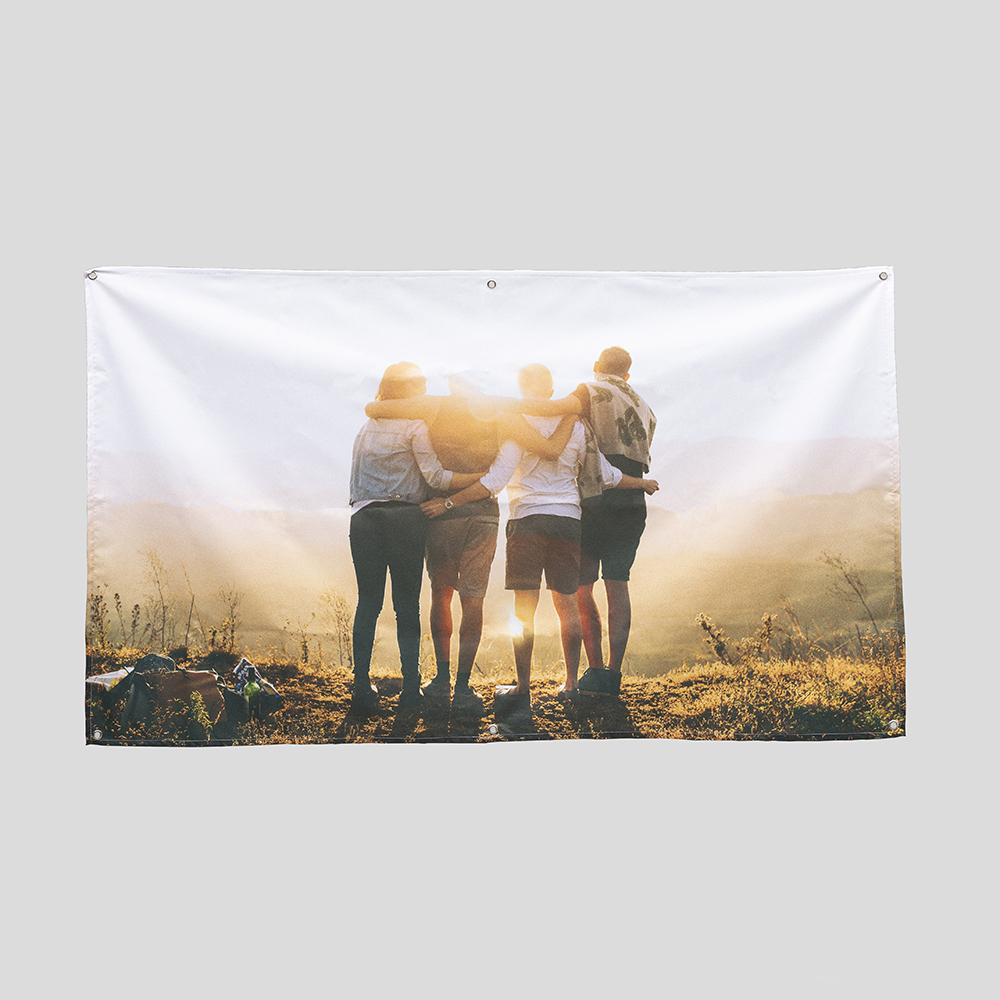 pancarta para exterior personalizada con fotos