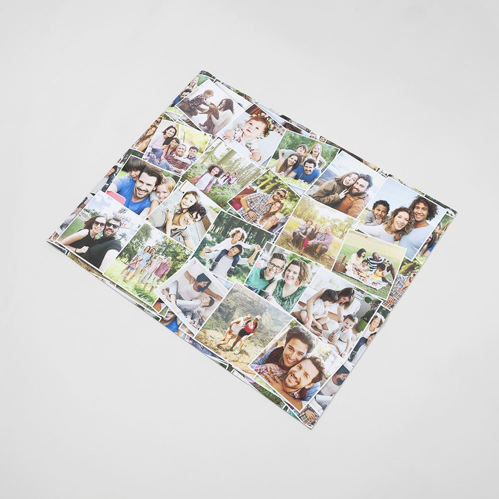 personalised photo desk pad