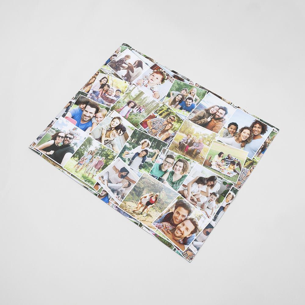 personalised photo desk pad