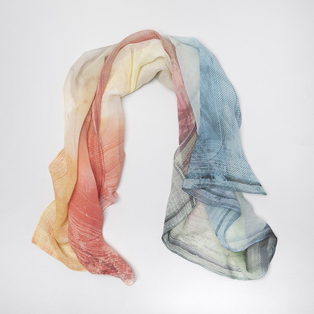 printed chiffon scarves