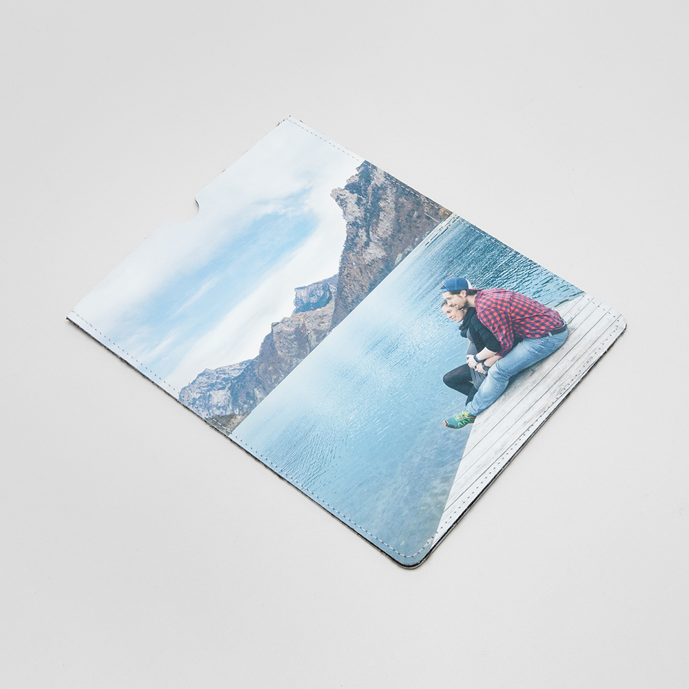 personalised leather ipad mini cover