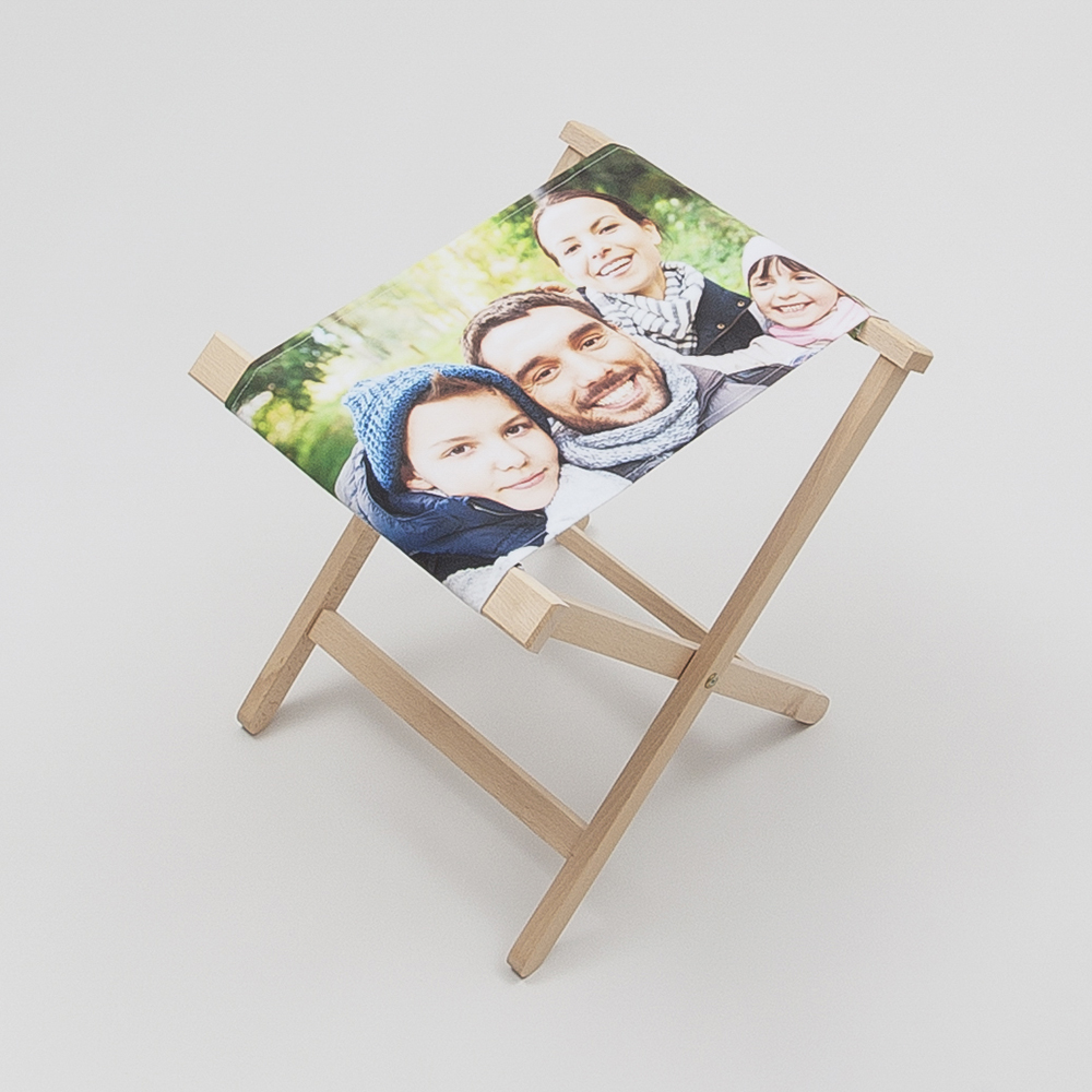 personalised folding chair