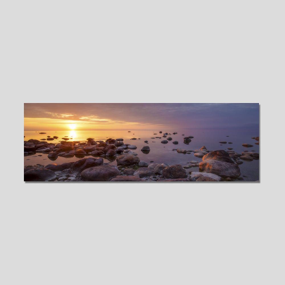personalised panoramic canvas