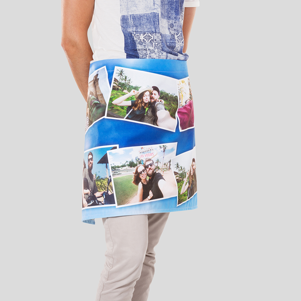 personalised waist apron