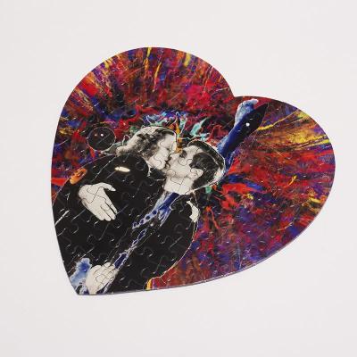love heart jigsaw puzzle
