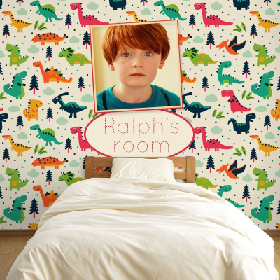 personalised kids wallpaper
