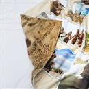 double sided printed blanket