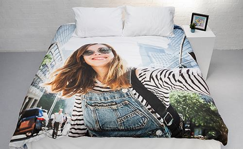 photo duvet cover