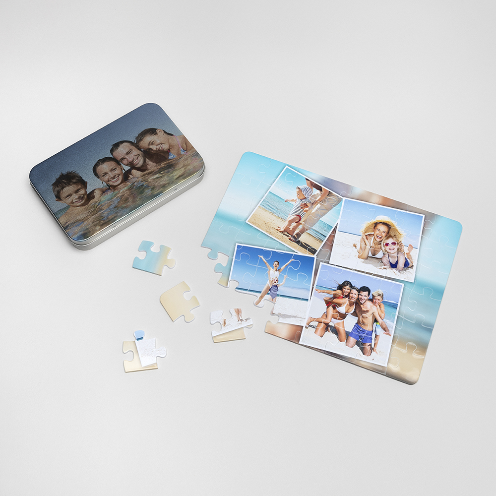 double-sided photo puzzle