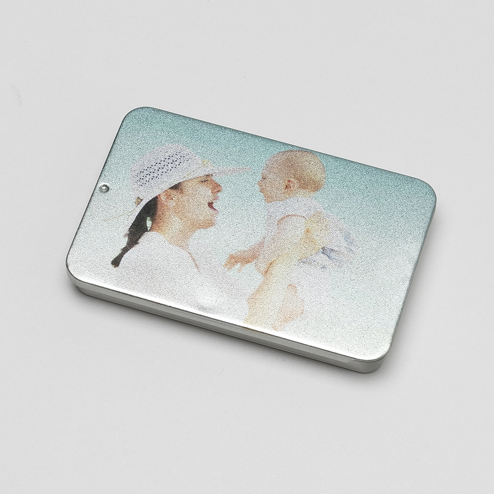 personalised business card tin