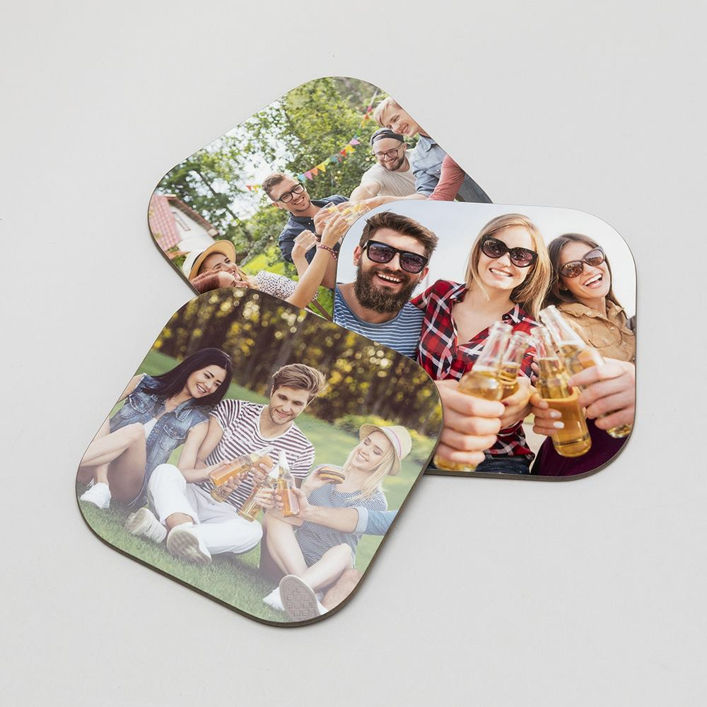 personalised beer coasters
