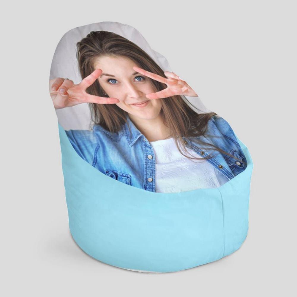 personalised bean bag covers