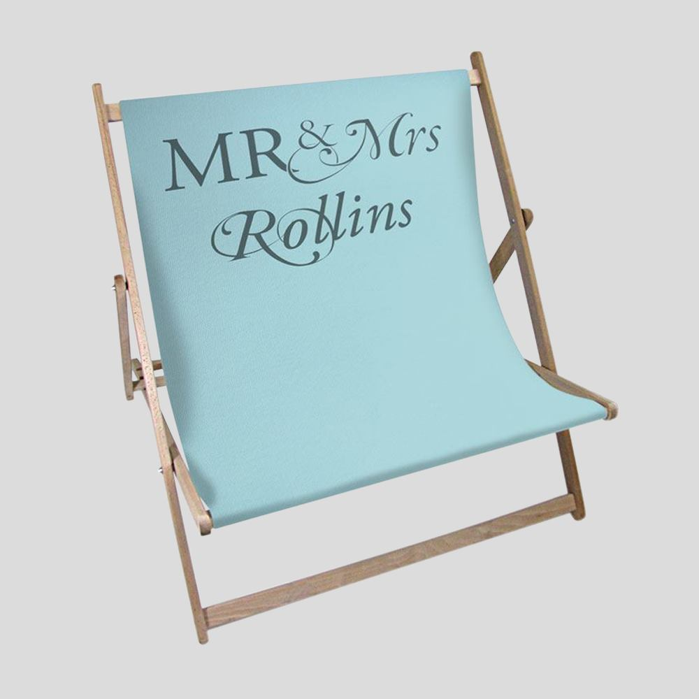 mr and mrs deckchairs
