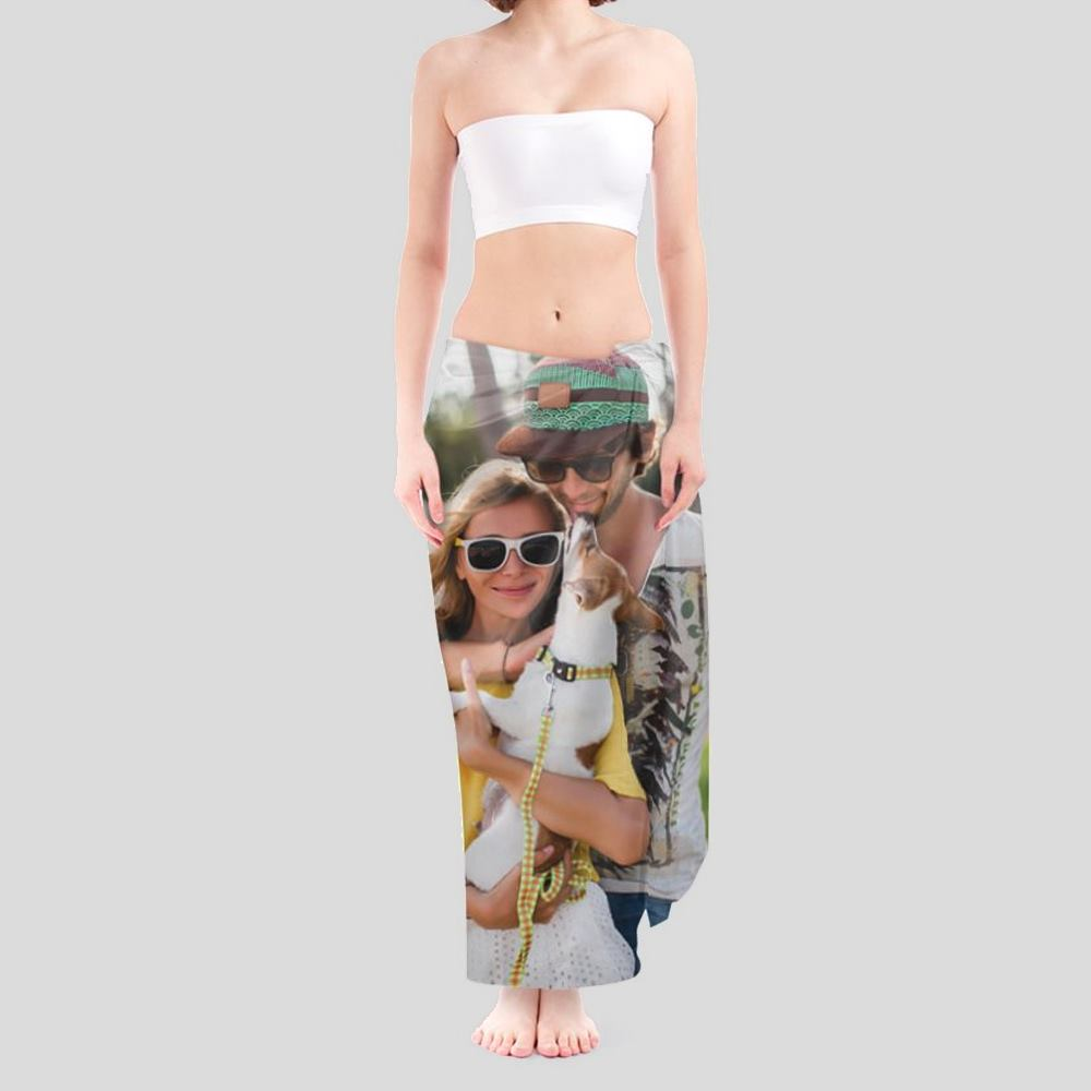 personalised beach wrap