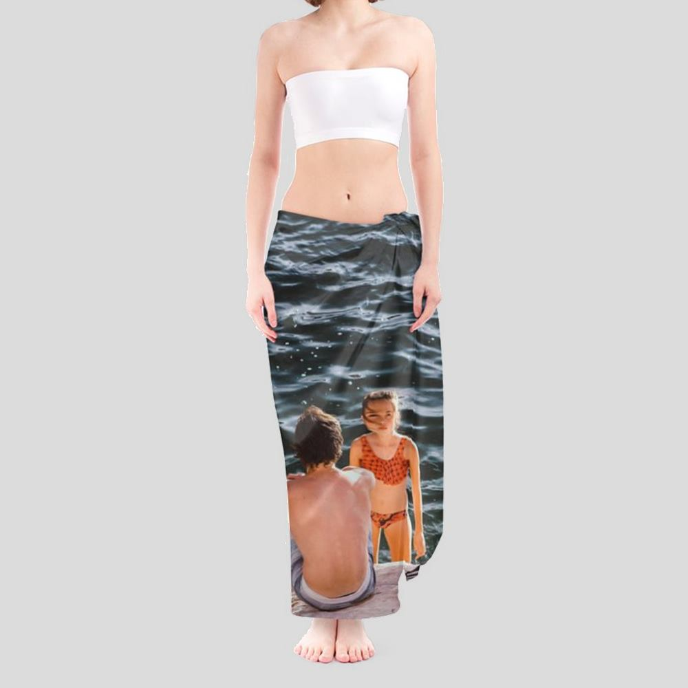 personalized sarong