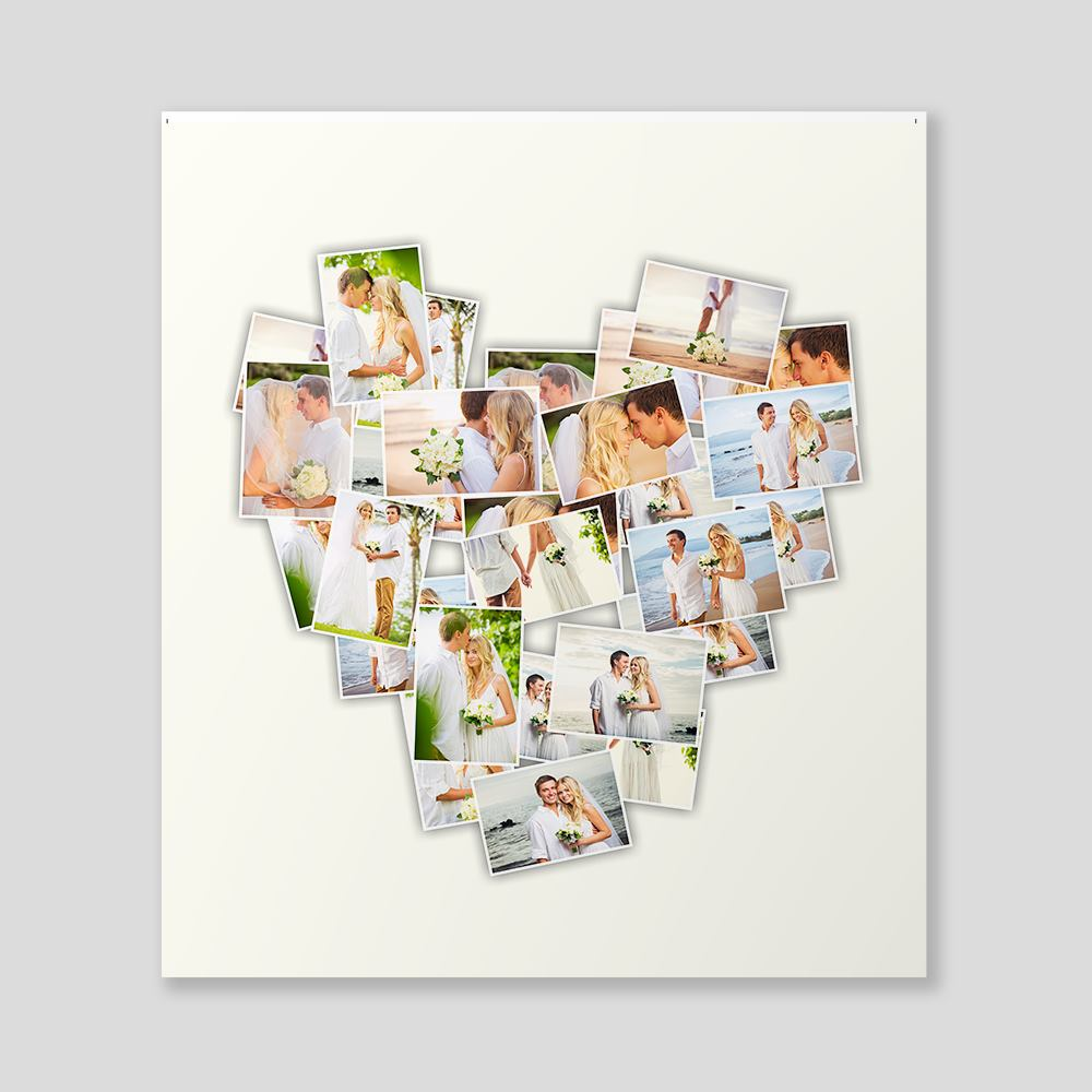 personalised montage canvas