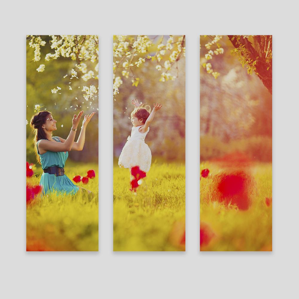personalised triptych