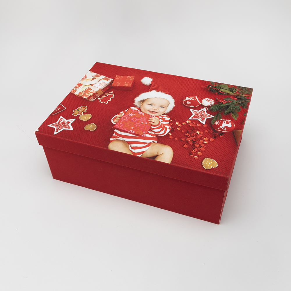 keepsake box with photo lid