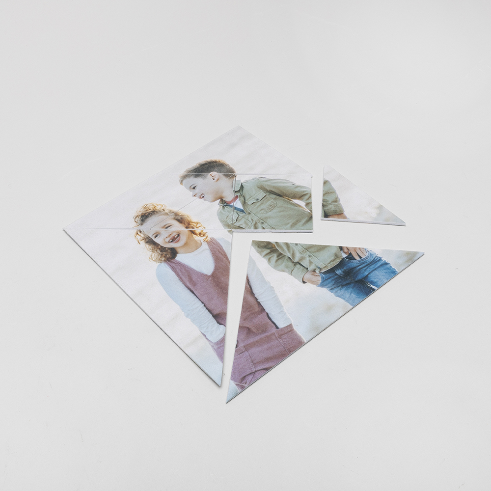 tangram printable personalized with your photos