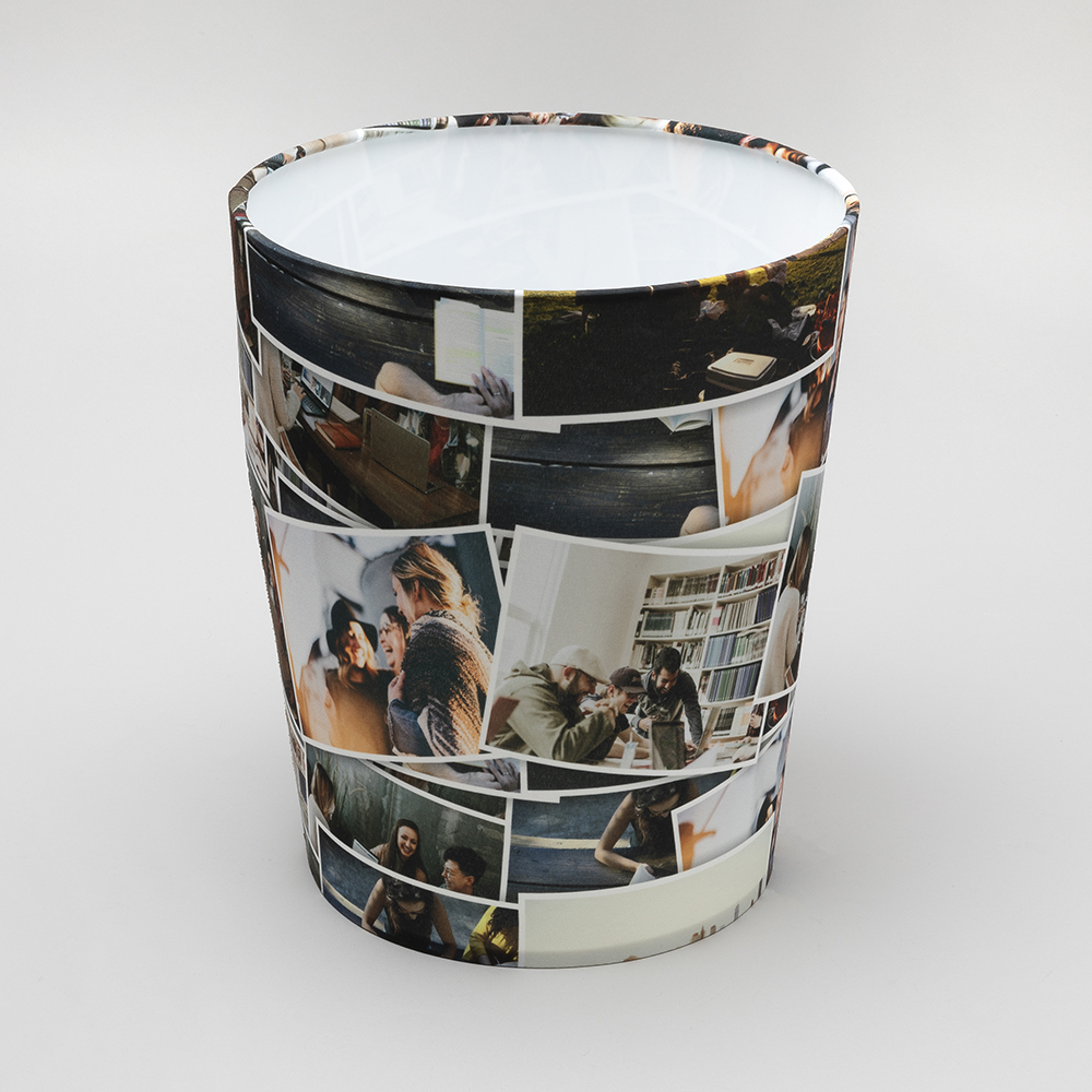 custom trash cans