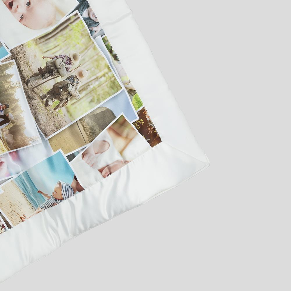 foto collage gepersonaliseerde quilt