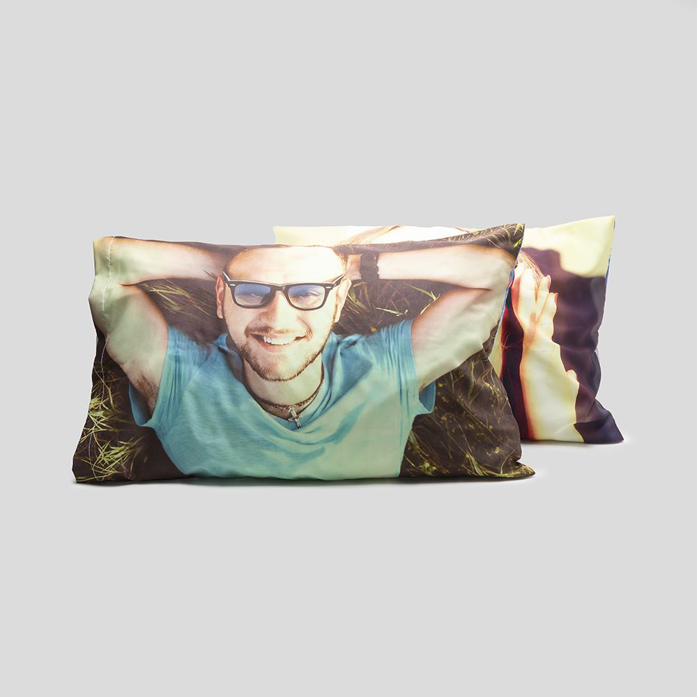 Photo collage pillow cases