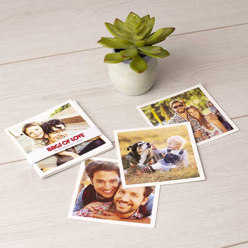 polaroid style prints design your own square photo prints uk made
