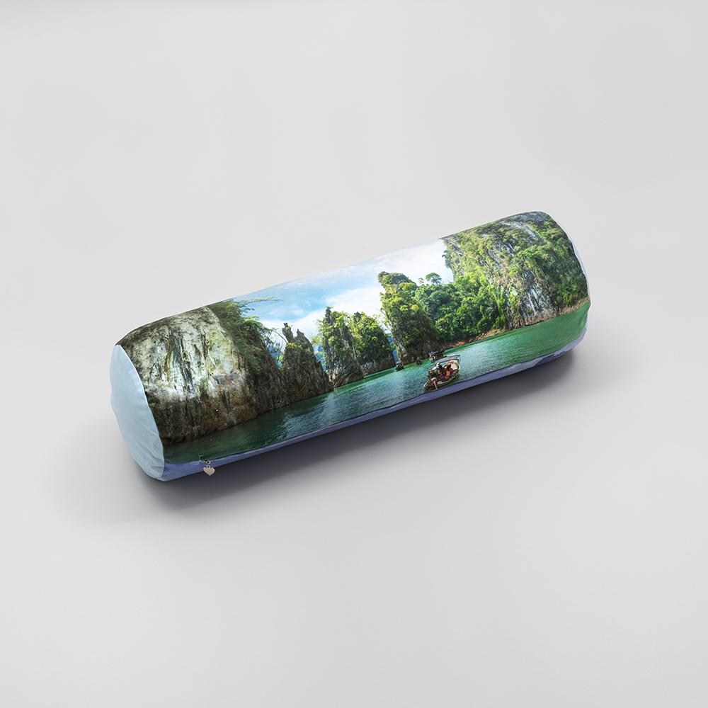 Cylinderformad fotokudde