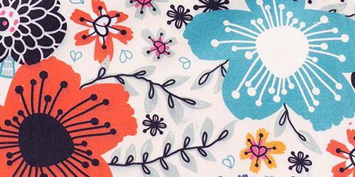 detail cotton sateen