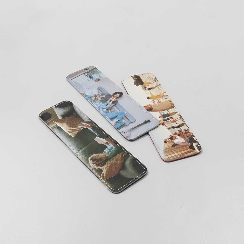 personalised photo bookmarks