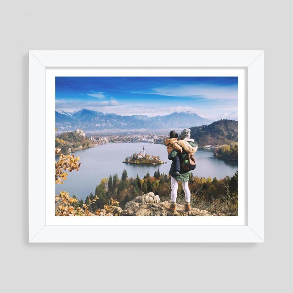 Impression photo avec cadre