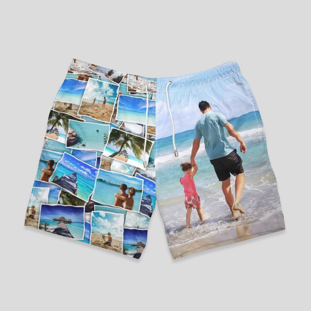 personalized swim shorts