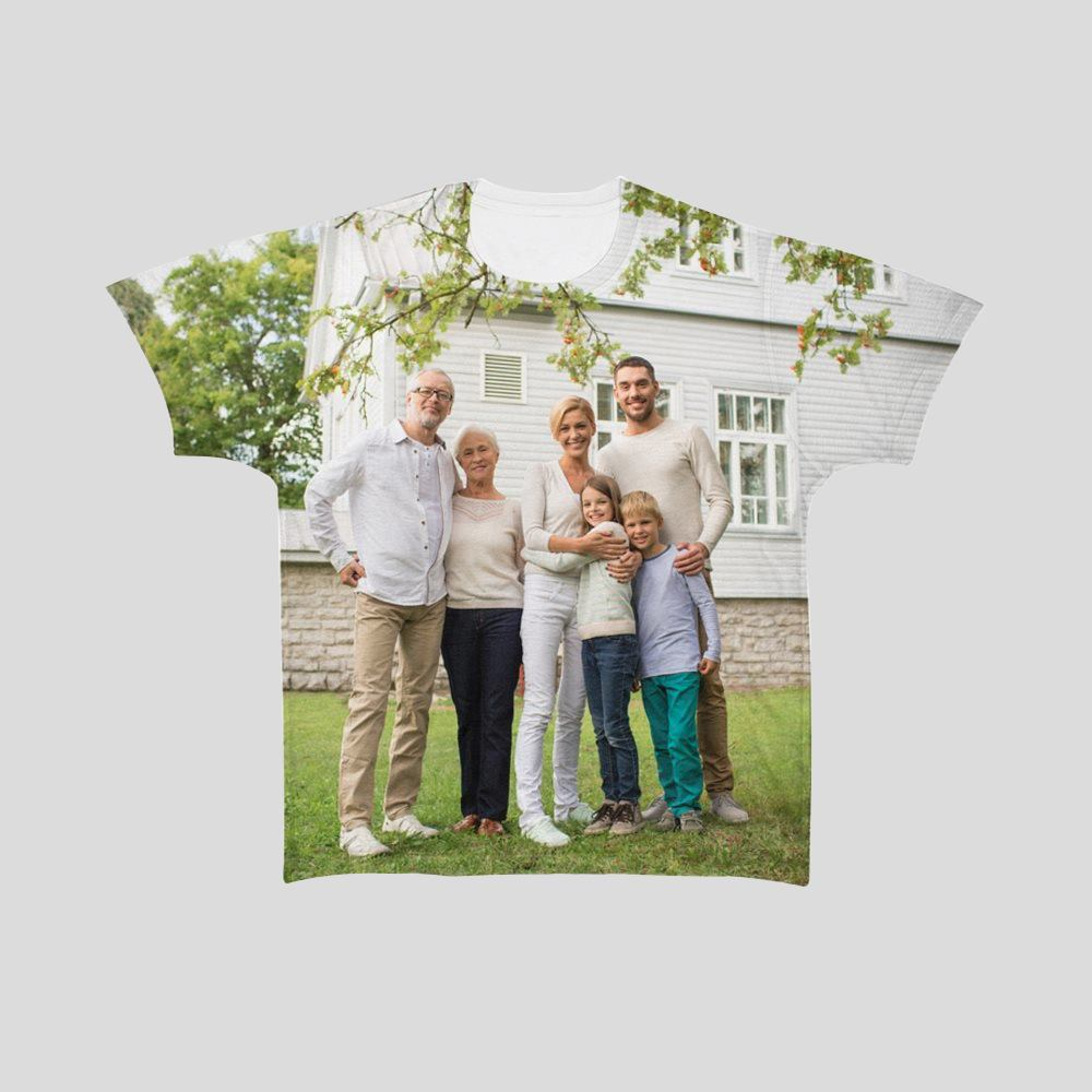 T-shirt med eget tryck herr