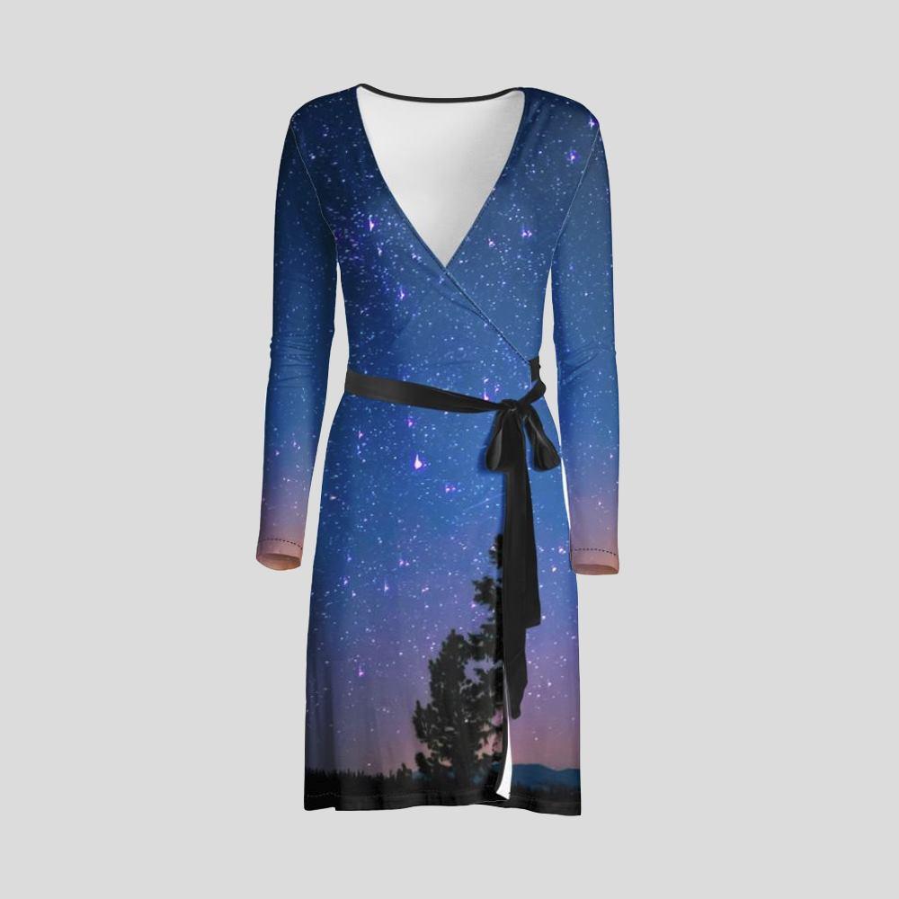 vestido cruzado personalizado con fotos diseño online