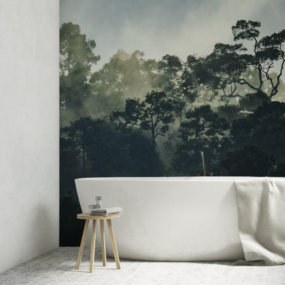 お風呂場用 防水壁紙 印刷