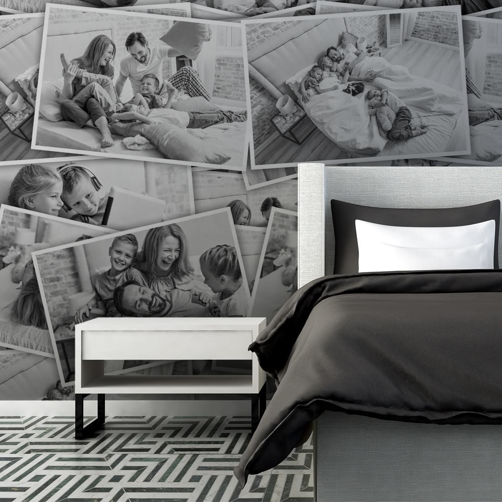 personalised bedroom wallpaper