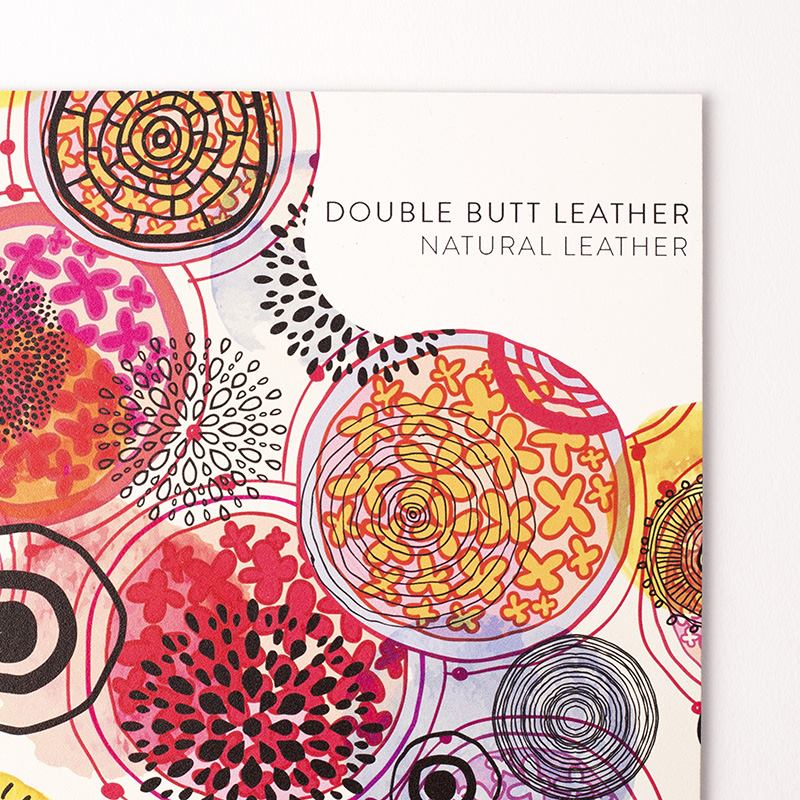 design your own cow leather
